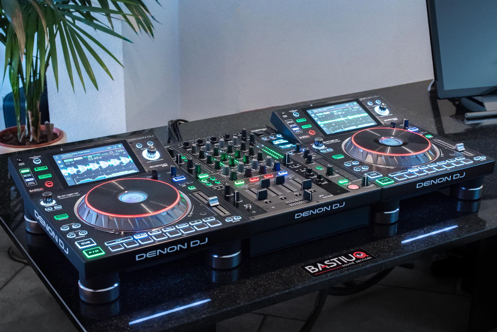 Denon DJ-set